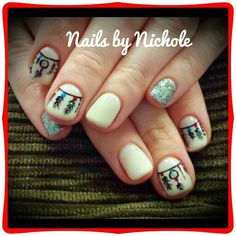 Light Elegance/hard gel nails Nail artist/handpainted  Instagram: styleandgracesalon  Facebook: Gel Nails By Nichole