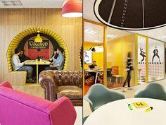 Inside Sony Music Office in Madrid