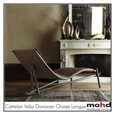"""Cattelan Italia Donovan Chaise Longue"" by mohd-homedesign ❤ liked on Polyvore featuring interior, interiors, interior design, Casa, home decor, interior decorating, Cattelan Italia, Home, homedesign e homeset"