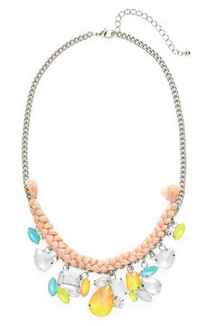 MISSING+PIECE+Fluorescent+Drop+Necklace+available+at+#Nordstrom