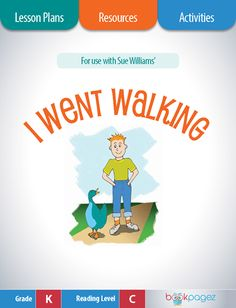 I Went Walking Lesson Plans, Resources, and Activities