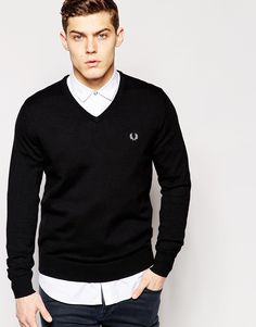 Purchase this before it goes  Fred Perry Jumper with V Neck - Black - http://www.fashionshop.net.au/shop/asos/fred-perry-jumper-with-v-neck-black/ #Black, #ClothingAccessories, #Fred, #FredPerry, #Jumper, #Knitwear, #Male, #Mens, #MensCardigans, #Neck, #Perry, #V, #With #fashion #fashionshop