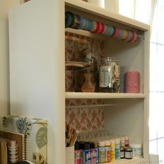 homework: Fresh Look: my first roadside rescue {bookcase makeover}