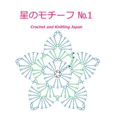 かぎ針編み:星のモチーフ の編み方 Crochet Star Motif / Crochet and Knitting Japan Crochet Mat, Crochet Mandala Pattern, Crochet Stars, Crochet Snowflakes, Granny Square Crochet Pattern, Crochet Flower Patterns, Crochet Diagram, Thread Crochet, Crochet Doilies