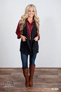 This vest is the perfect complement to any adorable  outfit!