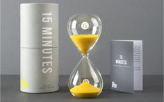 15 Minute Sand Timer | The School of Life Shop