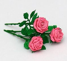 how to: polyclay roses.       ♡ IF ANOTHER PIECE WAS ADDED, THIS COULD MAKE A BEAUTIFUL SHAWL PIN!  ♥A