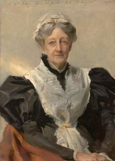 Portrait of E.A. Abbey by John Singer Sargent Edwin Austin Abbey is an inspiration to late bloomers, because he didn't really start ...