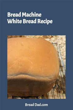 This easy bread machine white bread recipe creates a buttery white bread that your family will love for sandwiches or toast. Visit BreadDad.com for more easy bread machine recipes. #BreadMachineRecipes #WhiteBread #WhiteBreadRecipe #BreadMachineWhiteBread #BreadMachineWhiteBreadRecipe White Bread Machine Recipes, Easy Bread Recipes, Butter Bread Recipe, Amish White Bread, Homemade Sandwich Bread, Oatmeal Bread, Bread Mix, Thing 1, Sandwiches