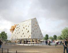 h2o architectes – Urban Market Hall – Limeil-Brevannes