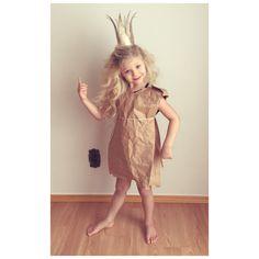 The PaperBag princess homemade costume