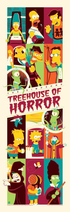 Treehouse of Horror (2) by Dave Perillo