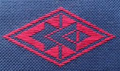 Kogin embroidery free Hishizashi Patterns and information about the technique