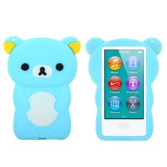 Happy Bear (Lyse Blå) iPod Nano 7 Deksler Ipad Nano, Ipods, Phone Cases, Bear, Cover, Happy, Ipod, Blankets, Bears