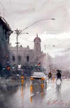 Art Of Watercolor: Joseph Z. Interview. Today.