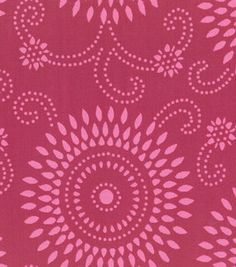 Home Decor Fabric-Annie Selke Esha Raspberry/Pink Joanns Fabric And Crafts, Navy Nursery, Arts And Crafts, Paper Crafts, Textile Patterns, Textiles, Home Decor Fabric, Joann Fabrics, Fabric Painting