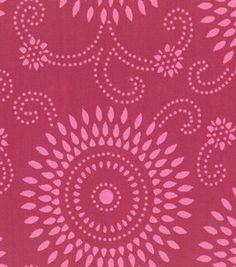 Home Decor Fabric-Annie Selke Esha Raspberry/Pink: home decor fabric: fabric: Shop | Joann.com codi's room