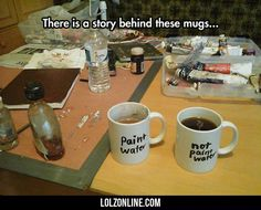 There's A Story Behind These Mugs...#funny #lol #lolzonline