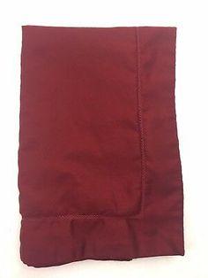Charter Club Damask Red Standard Pillow Sham 100% Pima Cotton Deep Garnet Tone  | eBay King Pillows, Pillow Shams, Cottage Style, Luxury Bedding, Damask, Garnet, Deep, Club, Cotton