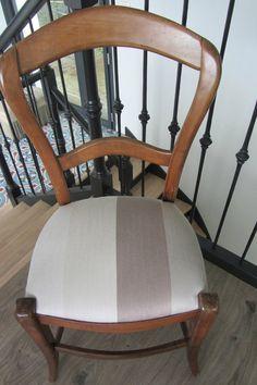les 25 meilleures id es de la cat gorie retapisser une chaise sur pinterest. Black Bedroom Furniture Sets. Home Design Ideas