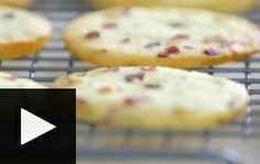 Look at this recipe - Cranberry Nut Cookies with Ice Cream and Passion Fruit Sauce - from Siba Mtongana and other tasty dishes on Food Network. Fruit Sauce, Cookie Brownie Bars, Ice Cream Cookies, Tasty Dishes, Sauce Recipes, Food Network Recipes, Baked Goods, Brownies, Christmas Ideas