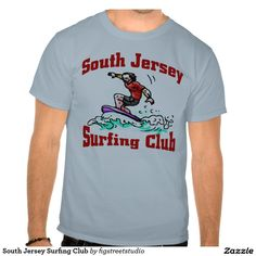 South Jersey Surfing Club T Shirt