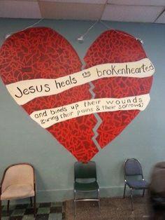 Jesus heilt gebrochene Herzen und mehr. Laesst du Ihn? Lies unseren neusten Blog.