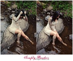 #outdoorboudoir #boudoir #boudoiroutside Outdoor-Boudoir Boudoir-in-water, NC Boudoir Photographer Simply-Boudoir, boudoir-in-creek #sexy