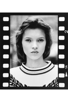 Kate Moss Aged fourteen. I love admiring different types of beauty
