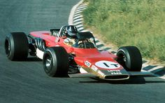 Graham Hill, Zandvoort 1969, the all-wheel drive Lotus 63