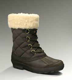 UGG Australia Women's Newberry Leather Boots,Stout,7 US UGG http://www.amazon.com/dp/B0059484B4/ref=cm_sw_r_pi_dp_fNoNtb1M0EYEY8C8