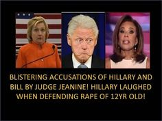 Wow! Blistering Accusations Hillary and Bill by Judge! Hillary Laughed defending Rape Of 12yr Old! - YouTube