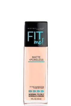 Fit Me® Matte + Poreless Foundation - Want the perfect foundation fit? It's all about matching skin tone and texture.  Mattifying liquid formula ideal for normal to oily skin.