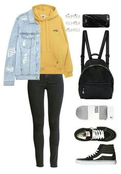 15 cool outfits that will make you look cool 00007 Cute Outfits For School, Teenage Girl Outfits, Cute Comfy Outfits, Stylish Outfits, Fall Outfits, Fall College Outfits, Diy Outfits, Work Outfits, Polyvore Outfits