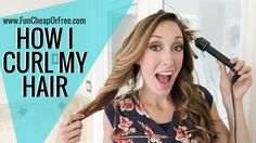 How I curl my hair - two different ways! Both ways are fast and easy…