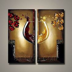 Still Life Wine Bottle Painting Canvas - China Oil Painting, Still Life Oil Painting | Made-in-China.com Mobile