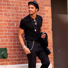 We've rounded up the 10 hottest men's street style looks from Fashion Week Spring 2015. (Prepare to swoon, friends! These are going to be good.)