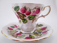 Vintage Royal Albert Tea Cup and Saucer Harvest Series Dorset