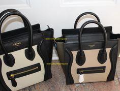 Celine Nano Luggage Bag from counterluxury.cn Review  Comparison (in pics)!  (The Purse Queen) 918e043469c63