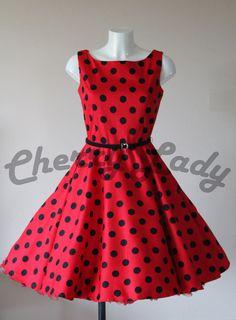 Hepburn nádherné kolové šaty se spodničkou