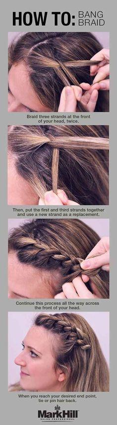 Ingenious Braided Bangs