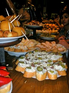 Spanish Tapas...a little of this, a little of that.  The way everyone should eat.
