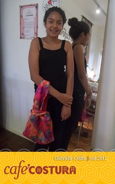 Gabrielle Coifuu - Primeira aula da nossa nova aluna, Gabrielle. A bolsa ficou linda!