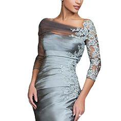 Mother of the Bride Dresses - LinSposa Charcoal Grey Mother of the Bride Dresses Knee Length 2016 DMH20 ** You can get additional details at the image link.
