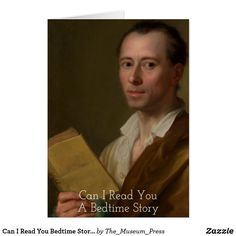 Can I Read You Bedtime Story German Painting 1777 Wedding Announcements, Bedtime Stories, Single Image, Custom Greeting Cards, I Can, German, Paintings, Pillows, Portrait