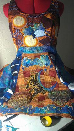 Custom Hippie Gypsy Summer Backless Apron Top by DeadHeadSpace, $60.00
