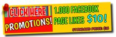 1.000 Facebook Page Likes = Only $10! Standard Price: $16 www.fastfacelikes.com/p/promotions.html  #socialmediamarketing #Facebook #facebookmarketing #facebooklikes #digitalmarketing