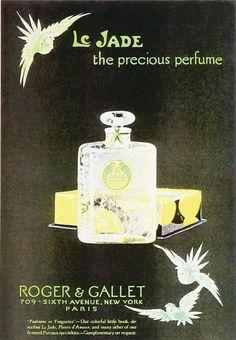 Roger & Gallet Le Jade, 1920's