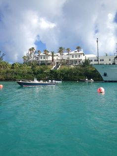 BIOS station in Bermuda