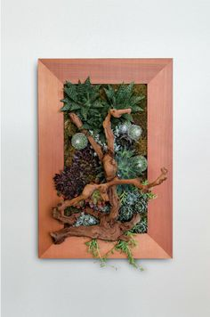 Vertical wall hanging.